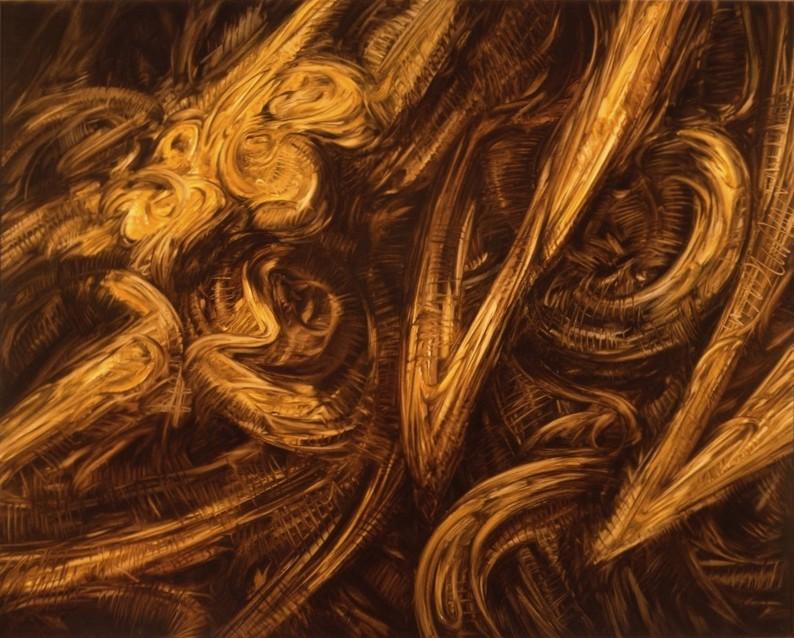 Apalisor 12 - 1990 - huile sur toile,130x162