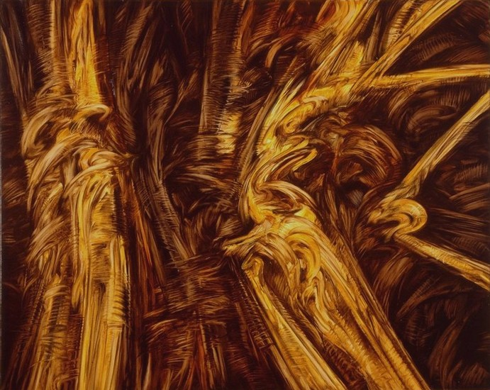 Apalisor 9 - 1990 - huile sur toile,130x162