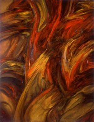 La colère de l`Archange` II,1992,116x89