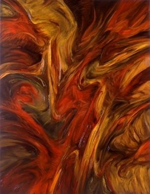 La colère de l`Archange` III,1992,116x89