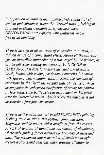traduction anglais 2, préface Francony