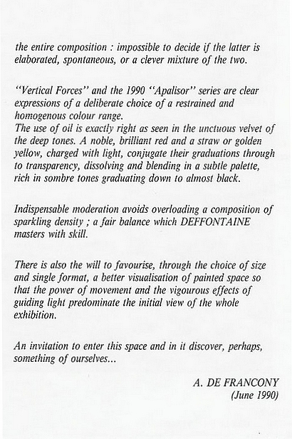 traduction anglais 3, préface Francony