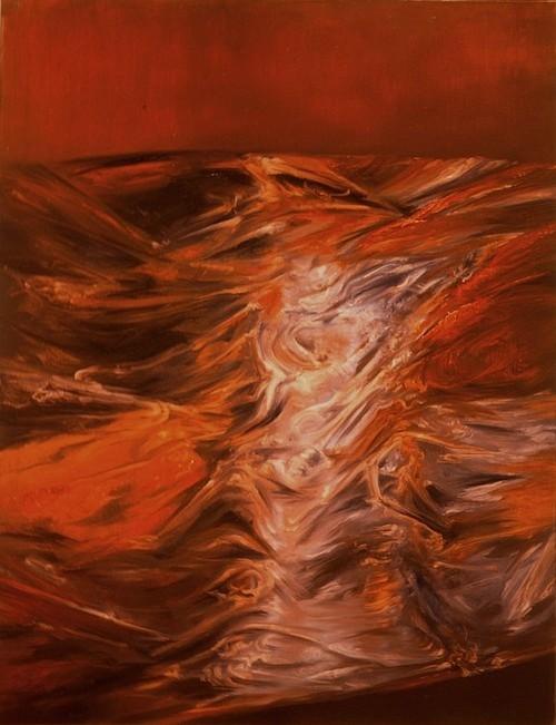 Langueur pourpre - 1984 - huile sur toile, 116x89